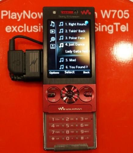 Sony Ericsson W705 Walkman phone