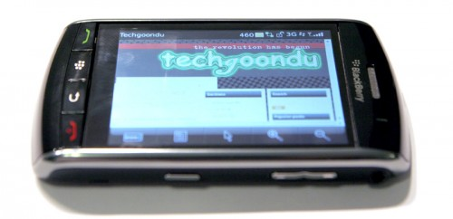 Techgoondu on BlackBerry Storm