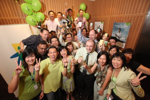 StarHub's bidding team - okay, it's not the NetCo, but OpCo's a win still