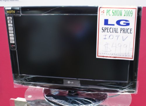 32-inch LG TV with built-in DTV tuner for S$499