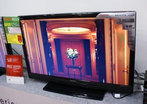 Toshiba Regza TV going for cheap