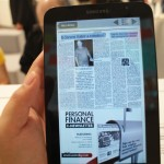 Great e-reader for newspapers and books