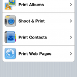 Print Utility on the iPhone
