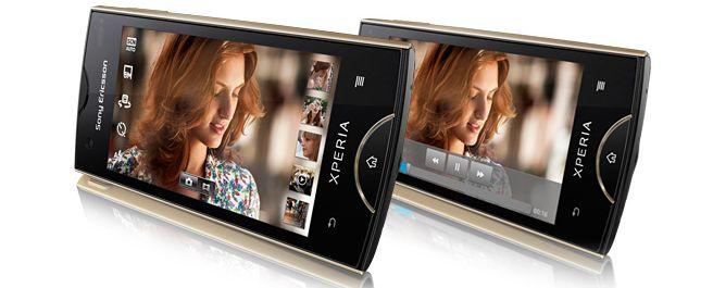 SE unveils Xperia ray, Xperia active, no new high-end models