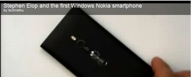 "Nokia's Windows ""Mango"" phone codenamed Sea Ray unveiled"