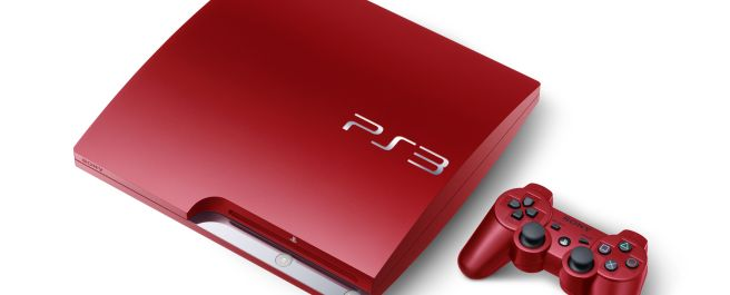 Sony Playstation 3 now comes in blue and red