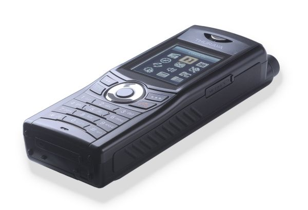 Make satellite and cellphone calls on the Thuraya XT-Dual