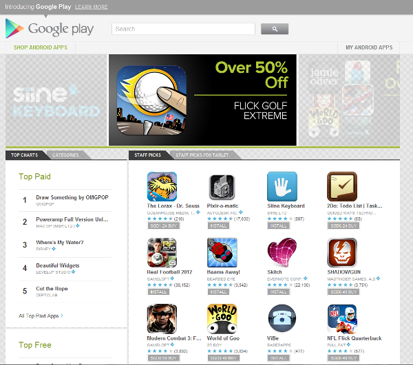 Google Play brings the fight to Apple's iCloud