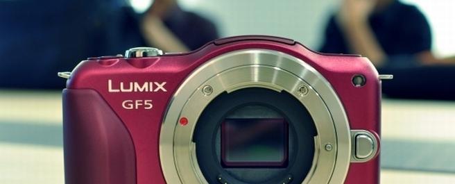 Hands-on: Lumix GF5 clears up Panasonic's mirrorless camera strategy