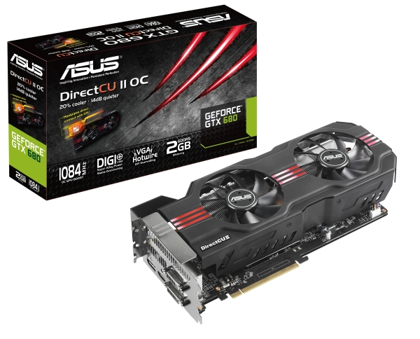 Asus reveals self-designed GeForce GTX 680 cards