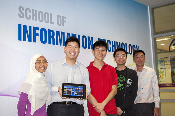 NYP students develop Windows 8 app to help dementia patients