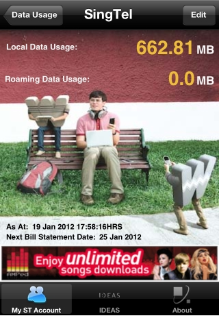 Goondu DIY: check your smartphone's mobile data usage