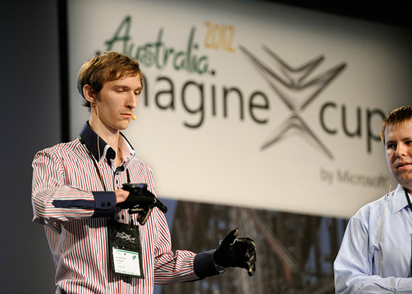 Ukrainian students win Imagine Cup with real-time sign language-to-speech translation