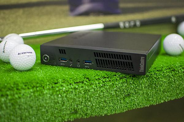 Lenovo ThinkCentre M92p serves up full desktop power in minuscule box