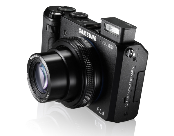 Samsung's advanced point-and-shoot EX2F boasts f/1.4 aperture, full HD video