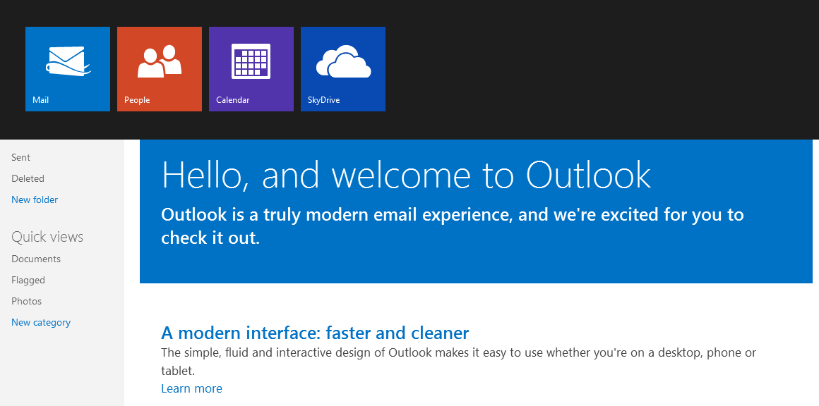 Microsoft Outlook.com early impressions
