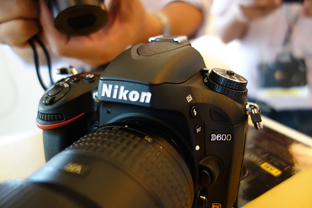 Hands-on: Nikon D600, full-frame DSLR with a smaller price tag