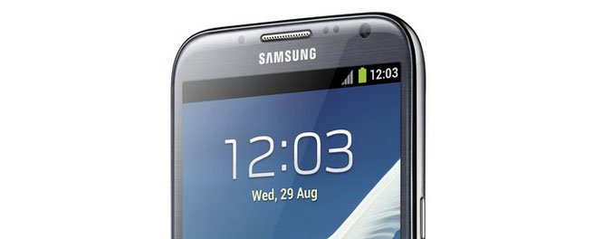 Hands on: Samsung Galaxy Note II LTE