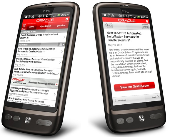 Oracle toolkit extends enterprise apps to mobile devices
