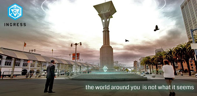 """What Google's new augmented reality game """"Ingress"""" is really about"""