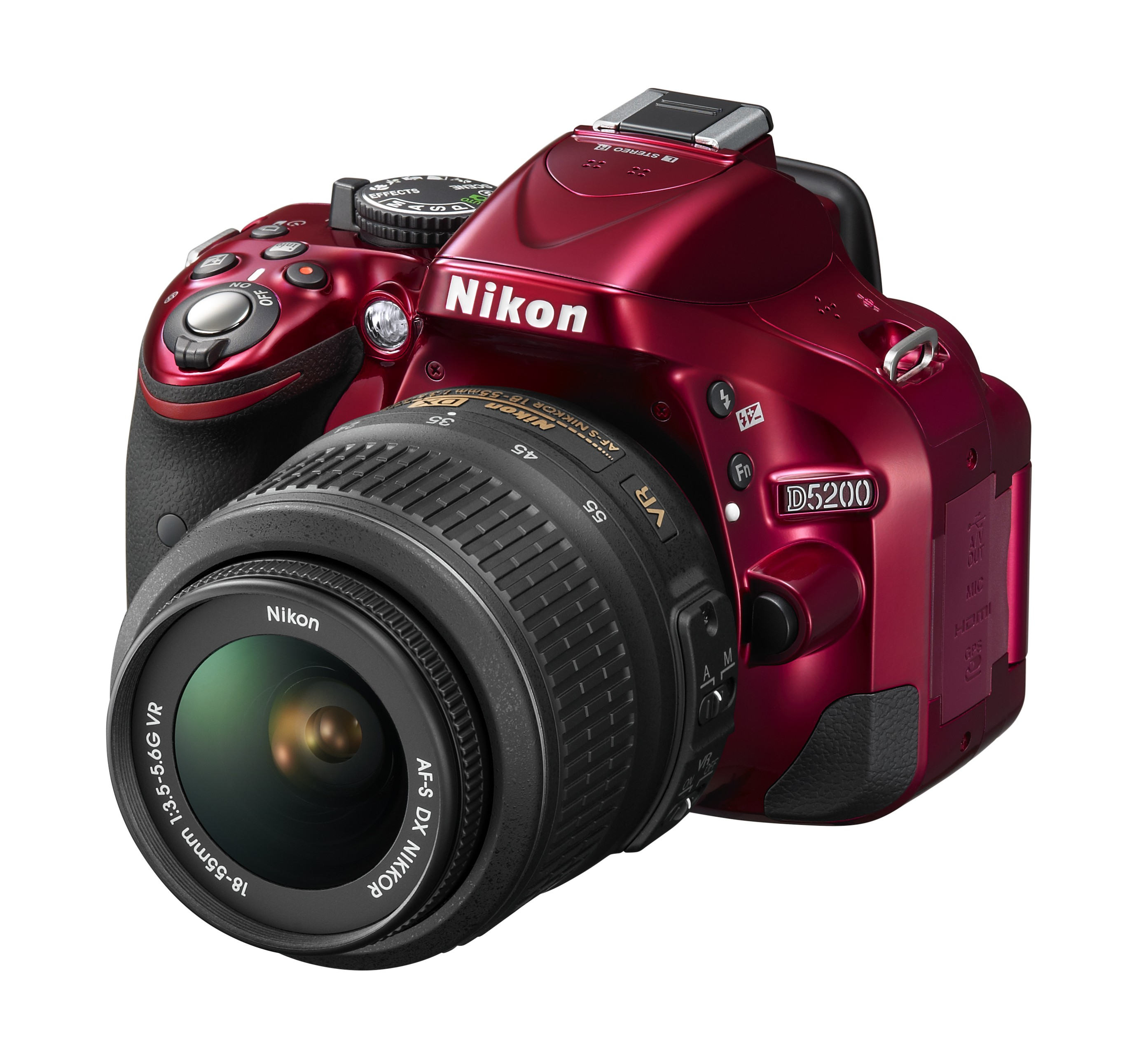Nikon shows off new D5200 entry-level DSLR, and infra-red controllers