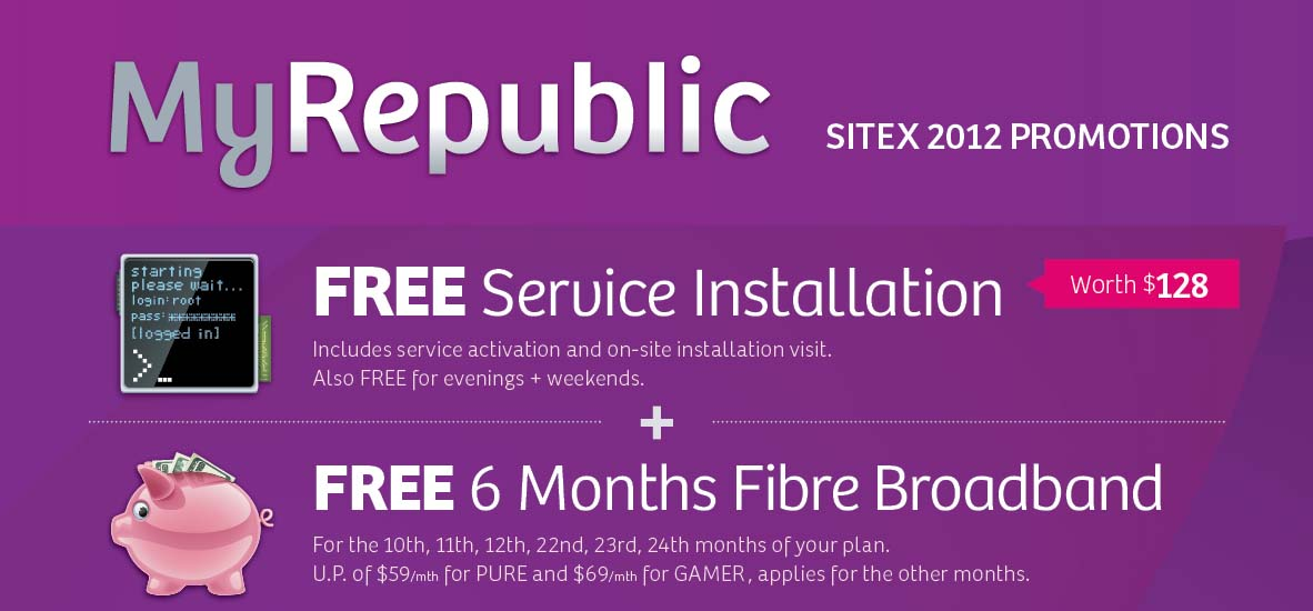 Singapore fibre broadband price wars hot up at Sitex 2012