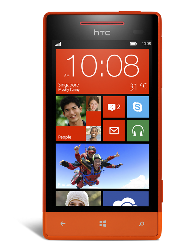 Competitively-priced HTC Windows Phone 8X and 8S in Singapore from this month