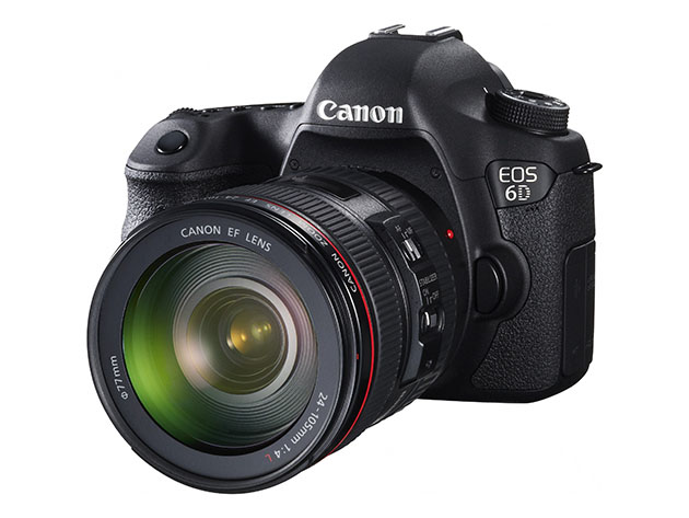 Canon's 6D takes on the Nikon D600 with a lower price tag