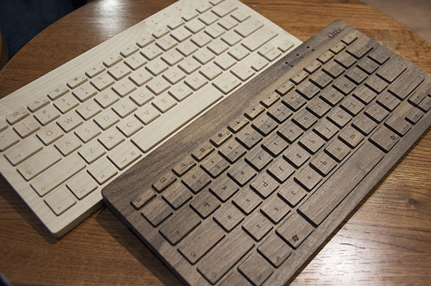 Hands-on: Orée Board – a Bluetooth keyboard made of wood