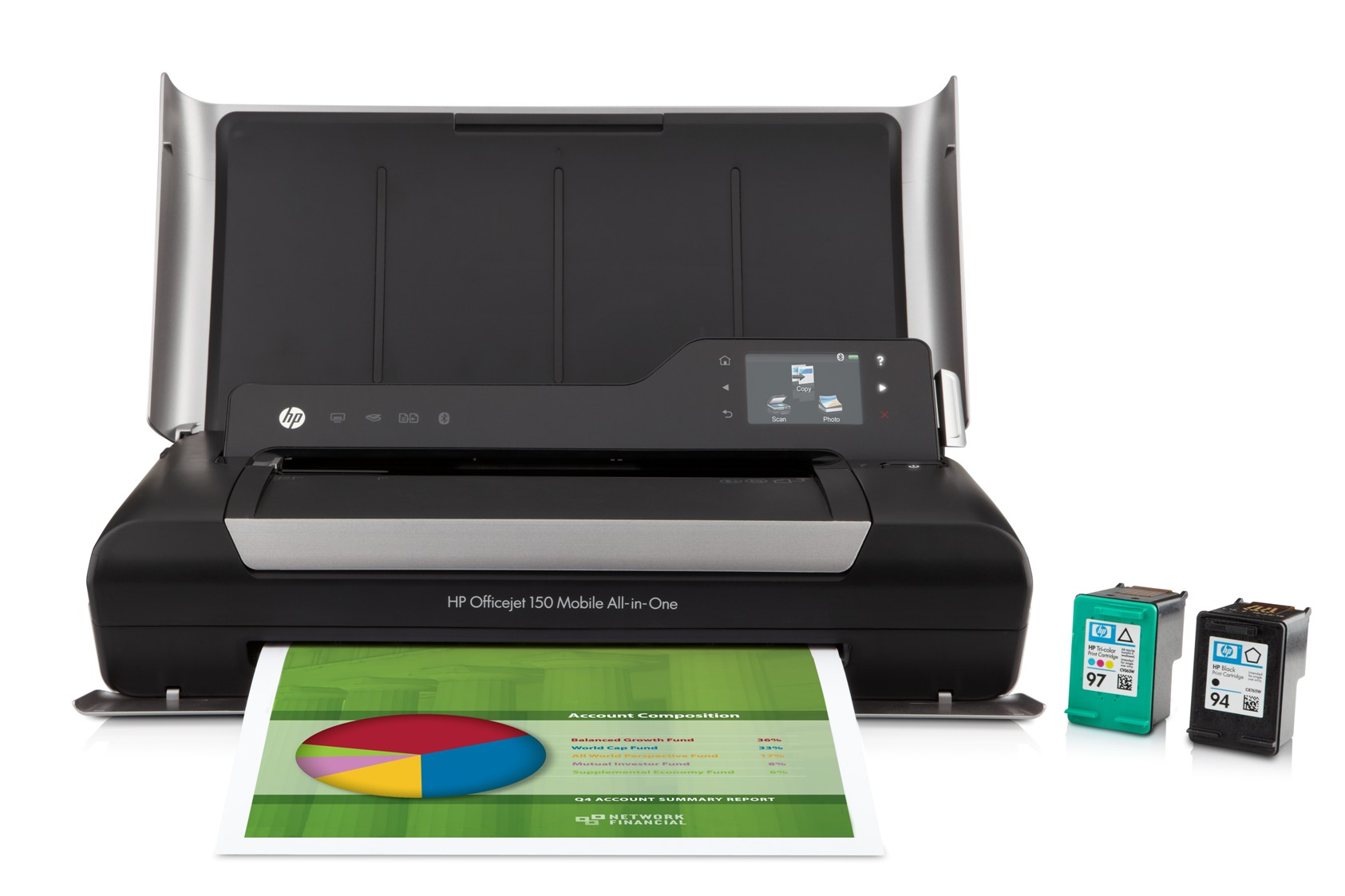 Scan, print and copy on the go with HP's mobile all-in-one printer