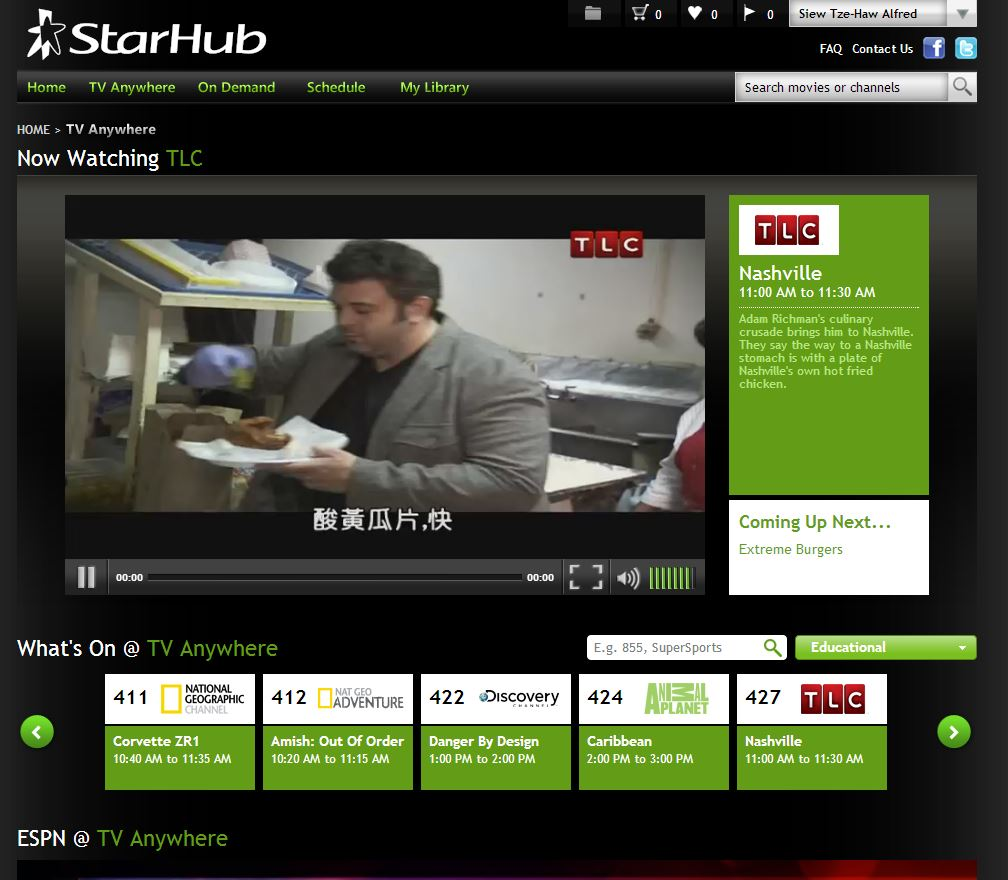 StarHub adds 10 new channels to its TV Anywhere service