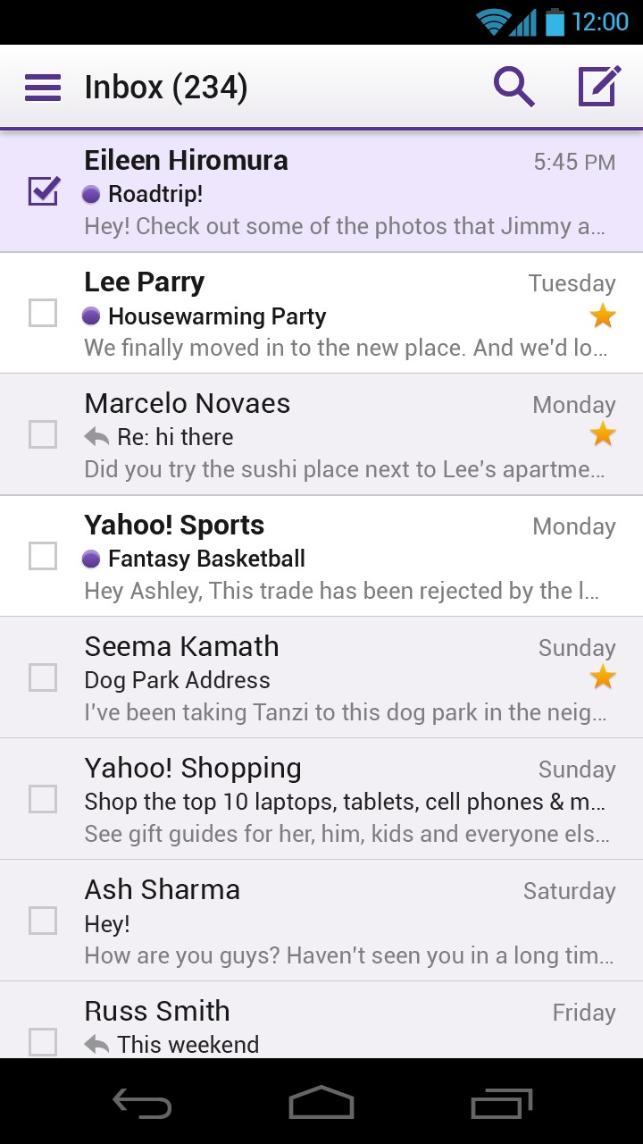 Redesigned Yahoo Mail now faster and sleeker