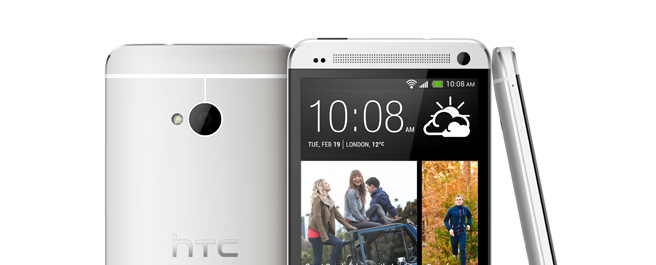 Hands on: HTC One