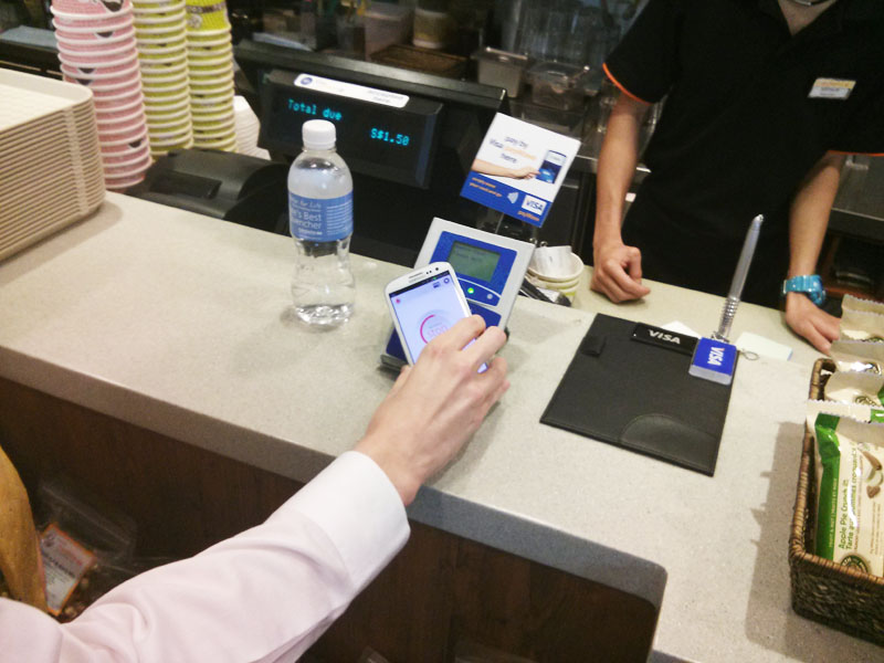 With a million tap-and-pay payWave cards in Singapore, Visa looks to