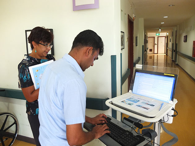 Singapore nursing homes turn to cloud, mobile technologies