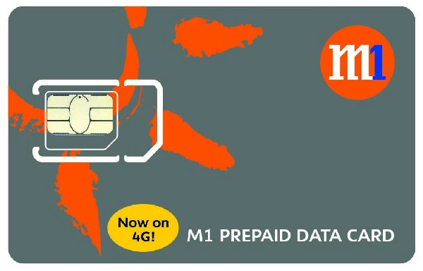 M1 rolls out first prepaid 4G data service in Singapore
