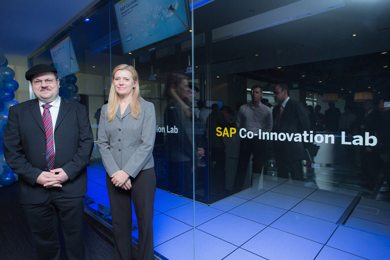 SAP partners get hands-on experience at Singapore Co-Innovation Lab