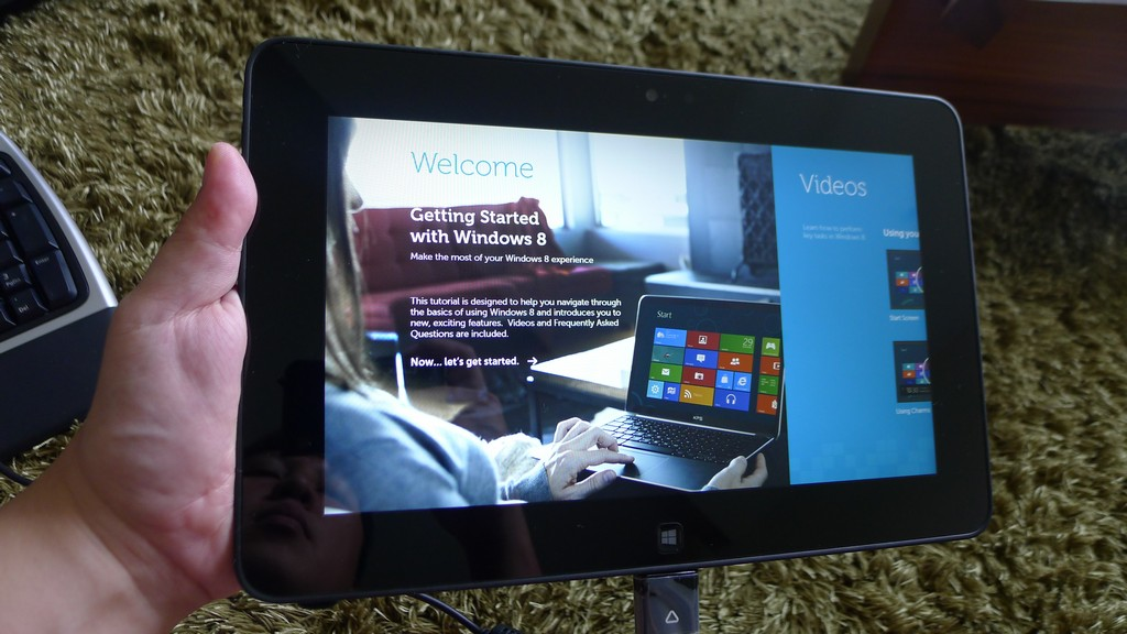 Hands on: Dell Latitude 10 – a Windows tablet with an Atom