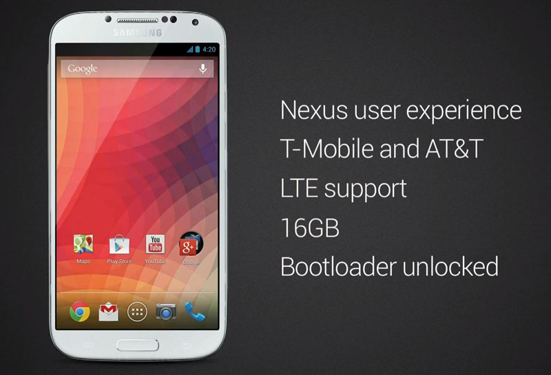 "Does Galaxy S4 ""Nexus"" from Google mark a new trend?"