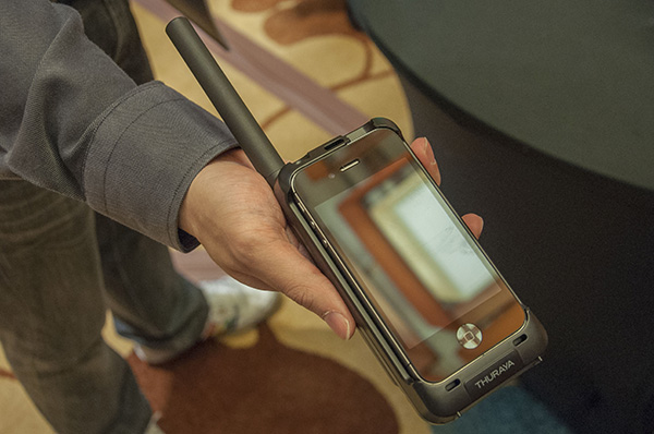 CommunicAsia 2013: Thuraya's SatSleeve turns your iPhone into a satellite phone