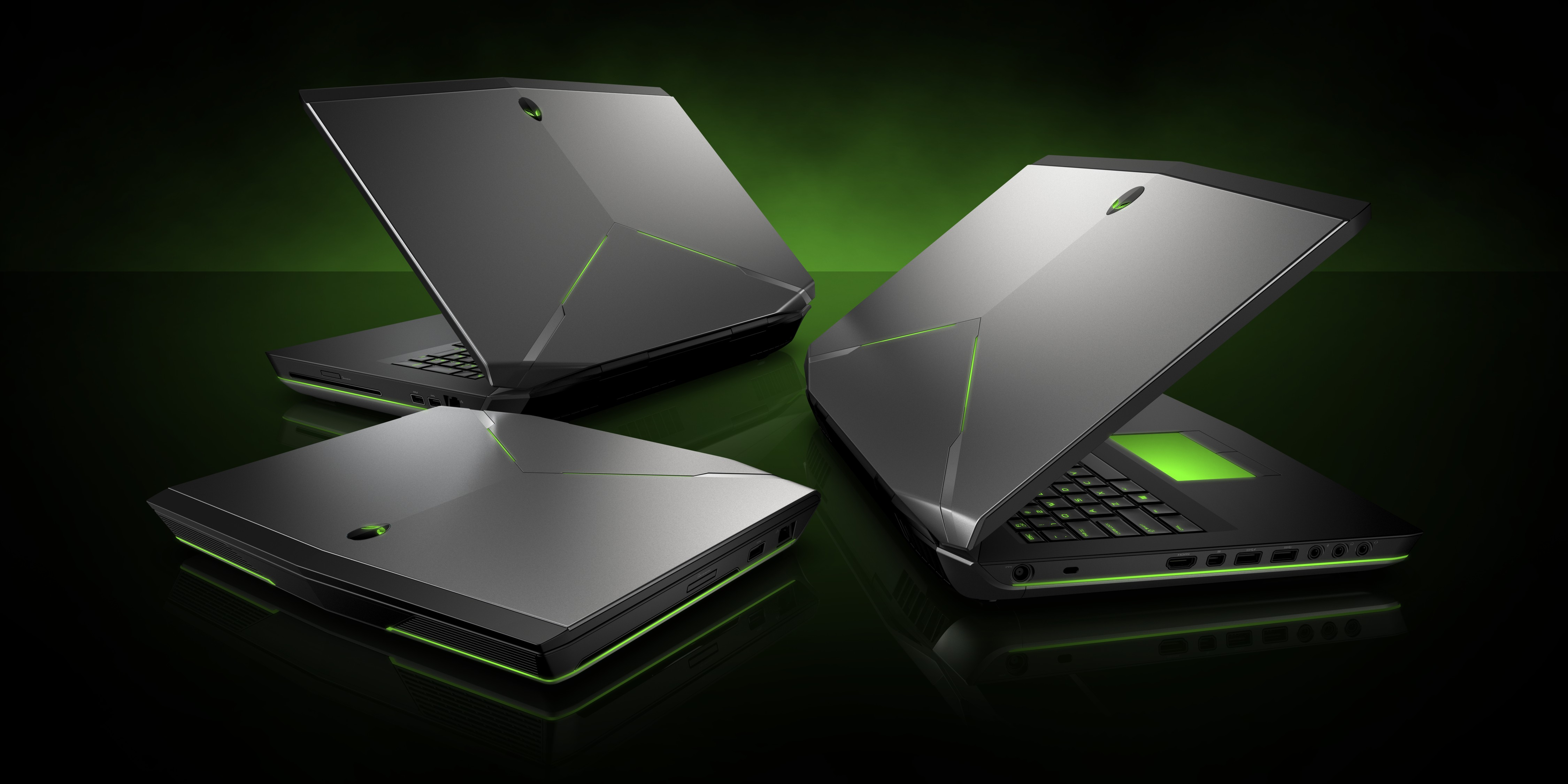 Alienware unveils three powerful gaming laptops
