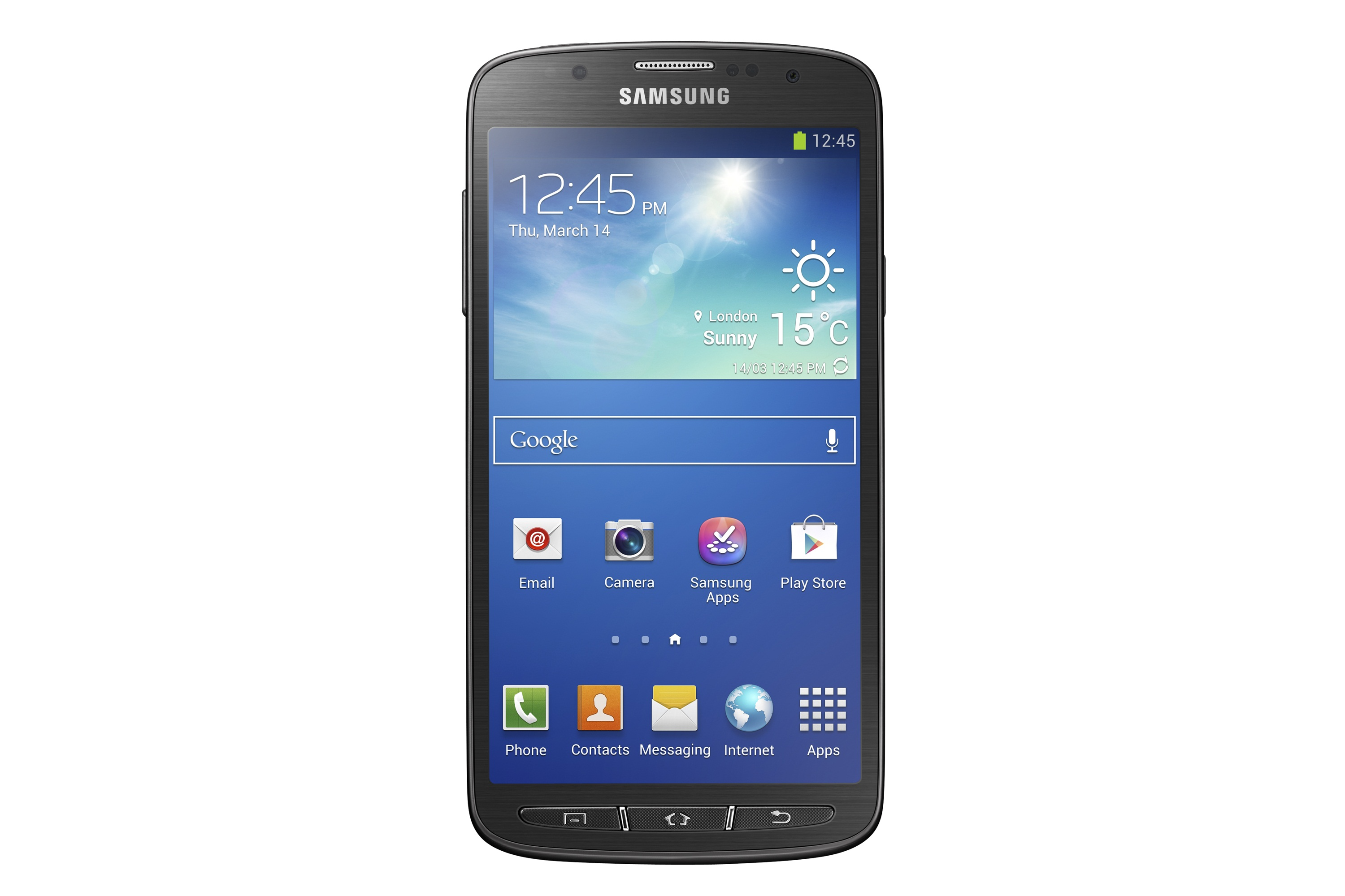 Rugged Samsung Galaxy S4 Active takes on Sony Xperia Z