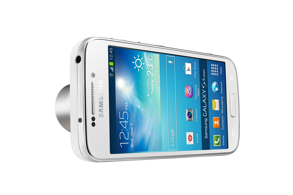 Samsung sticks a camera on a smartphone, calls it Galaxy S4 zoom