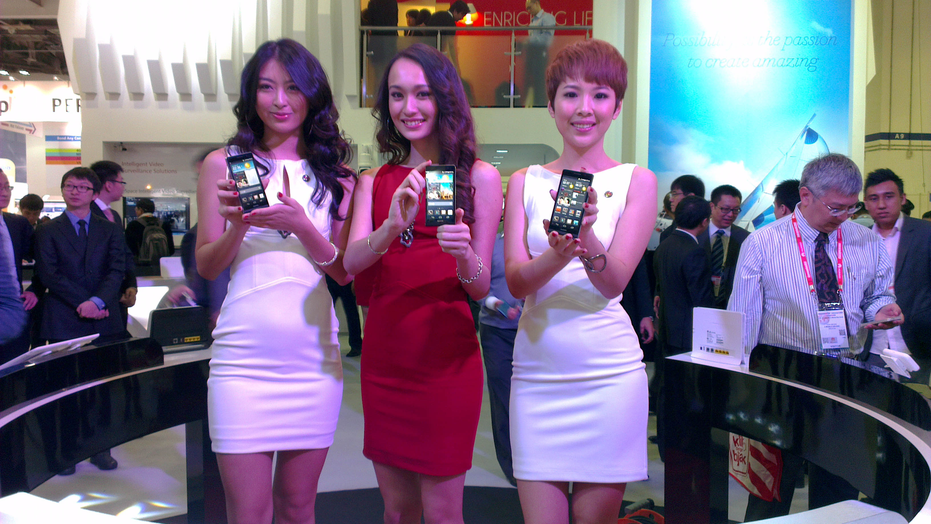 CommunicAsia 2013: Hands on with Huawei Ascend P6