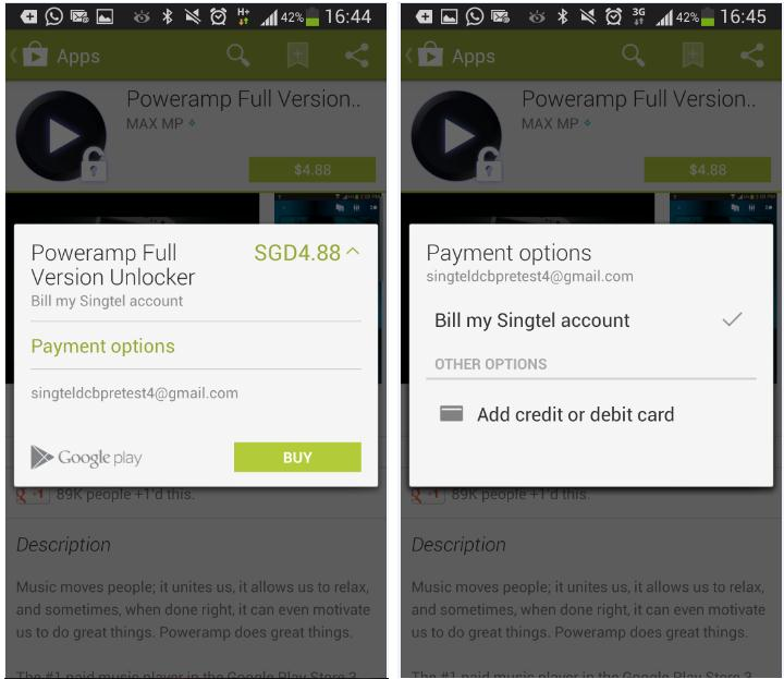 SingTel mobile users can soon pay for Android apps through telco