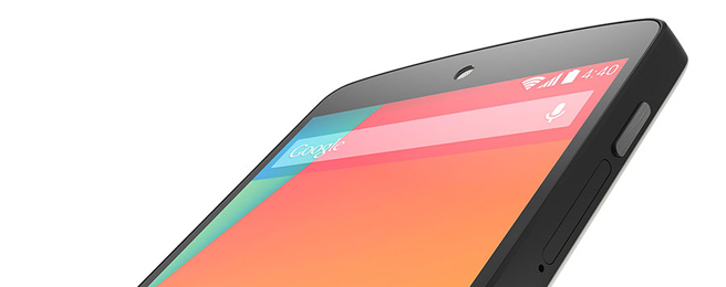 No more glass back for Nexus 5, but specs get updated