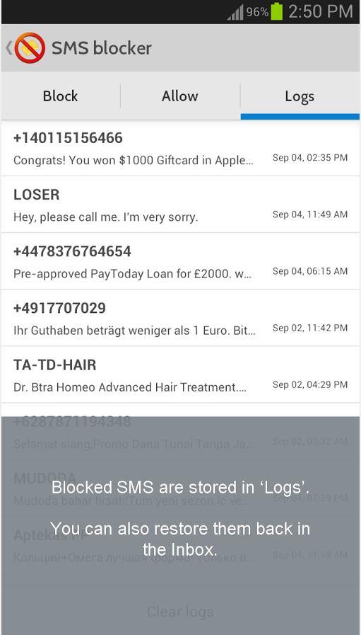 Goondu DIY: blocking spam on your phone