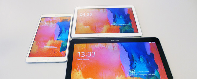 Hands on: Samsung NotePro and TabPro
