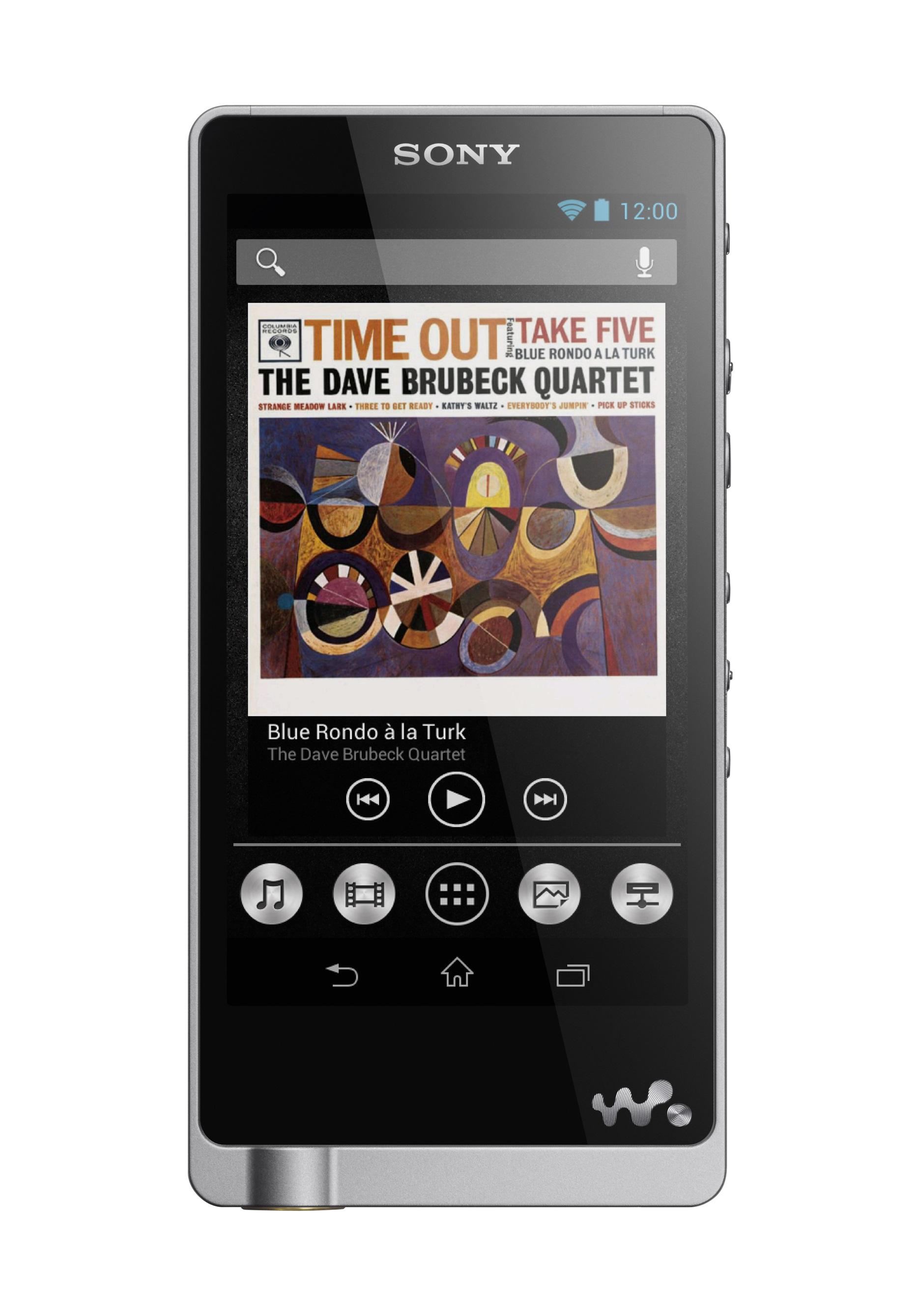 Sony's new Walkman NWZ-ZX1 targets audiophiles