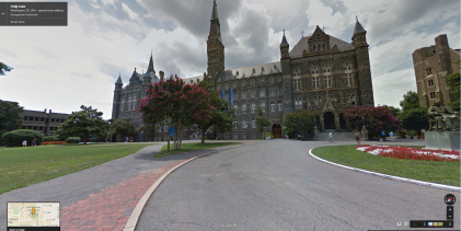 Google Street View extends reach to university campuses
